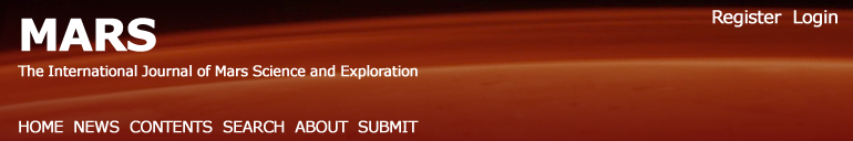 Mars: The International Journal of Mars Science and Exploration